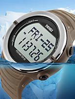 Montre de sport Hommes / UnisexeLED / Etanche / Moniteur de Fréquence Cardiaque / Podomètre / Tracker de Fitness / Chronomètre /