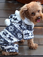 Dog Hoodie / Clothes/Clothing Pink Spring/Fall Christmas / Britsh Keep Warm-Lovoyager
