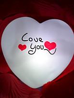 creatieve kleur veranderende de kleurrijke LED-nachtlampje Valentijnsdag geschenk bruiloft benodigdheden
