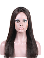 Full lace Human Hair Wigs Brazilian Virgin Hair Straight Human Hair Lace Front Wigs