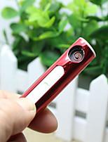 portable usb électronique rechargeable briquets tabac cigare flamme coupe-vent léger pas de gaz / carburant