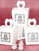 Boîtes à cadeaux(Blanc,Papier durci)Thème asiatique / Thème classique / Thème de conte de fées- pourMariage / Commémoration / Fête