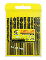 REWIN® TOOL Stainless Steel Cobalt-containing Twist Drill Diameter:6.0mm With 10pcs/box