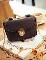 Women PU Sling Bag Shoulder Bag-Beige / Pink / Gray / Black