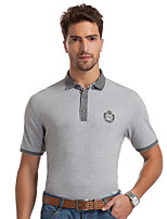 China famous Seven brand Men's Short Sleeve T-Shirt, casual men t shirts solid cotton t shirt for men