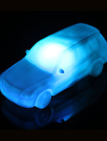 Creative Color-Changing Acrylic Colorful Car LED  Night Light Small Lantern Home Decoration