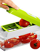 12 in 1 Nicer Dicer Plus The kitchen multi-function Shredder Salad Machine
