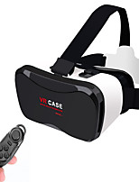 VR CASE 5PLUS VR 3D Glasses +Smart Bluetooth Wireless Mouse/Remote Control Gamepad for 4 ~ 6.3