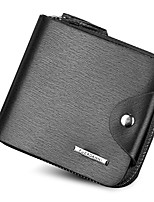 New Fashion Brand Wallet Men's Wallet Patchwork Leather Men Purse Zipper Coin Wallet Men Billfold Business Card Holders