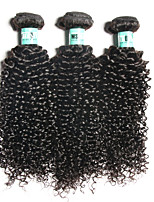 3 Bundles Brazilian Virgin Hair Curly Hair Extensions Unprocessed Human Hair Weave Bundles