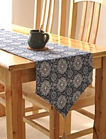 motif floral chemin de table mode hotsale de haute qualité table de draps en coton top déco