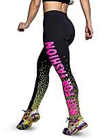 Women Print Legging,Polyester Medium