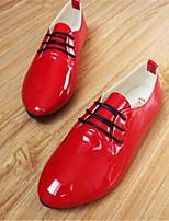Scarpe Donna-Sneakers alla moda-Tempo libero / Sportivo-Comoda-Piatto-Finta pelle-Nero / Rosa / Viola / Rosso / Bianco / Beige