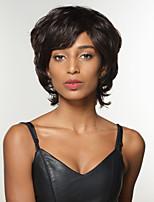 Remy sin tapa cabello humano peluca de mujer increíble peinado de onda corta