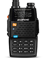 BaoFeng UV-5R 4TH Walkie Talkie 5W/1W 128 136-174MHz / 400-520MHz 2800mAh 1'5KM-3KMRadio FM / Comando por Voz / Banda Dual / Display Dual