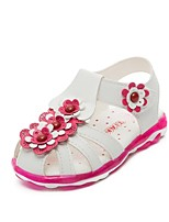 Girls' Shoes Outdoor / Casual Gladiator Leatherette Sandals / Flats Pink / Red / White