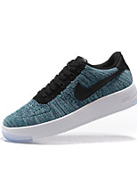NIKE AIR FORCE 1 ULTRA FLYKNIT LOW Men's Skateboarding Shoes Fabric Blue / Purple / Dark Green / Burgundy