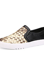 Men's Yeeze Shoes Casual/Party & Evening/Drive Fashion Leather Slip-on Woven Shoes Gold/Bule 39-44