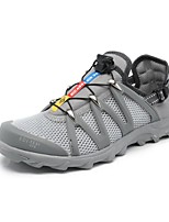 KOMANIC Men's Shoes Tulle Fashion Sneakers / Athletic Shoes Gray