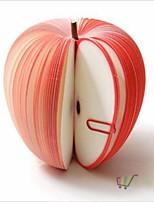 Trendy Korean Style Cute Apple Note Paper Fruit Note Memo Pads Portable Scratch