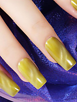 Ekbas Cat Eye Yellow Matte Nail Glue 16ML Nail Polish