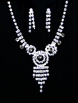 Women's Alloy / Rhinestone Jewelry Set Rhinestone