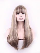 Women Long Straight Synthetic Hair Wig