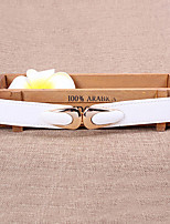 Women Leather Simple Fashion Wide Belt,Vintage / Cute / Party / Casual Alloy