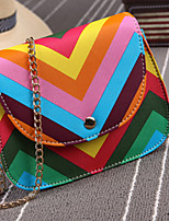 Women PU Sling Bag Shoulder Bag-Multi-color