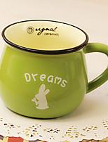 Classic Creative Green Ceramic Mug Cup