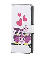 Sweet Owl Family Magnetic PU Leather wallet Flip Stand Case cover for Asus Zenfone Max ZC550KL
