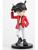 Detective Conan Conan Edogawa PVC 18cm Las figuras de acción del anime Juegos de construcción muñeca de juguete