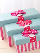 Boîtes Cadeaux(Rose,Papier durci)Thème classique- pourAnniversaire / Mariage / Commémoration / Fête prénuptiale / Fête de naissance /