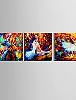 Stretched Frame Ready To Hang HD Canvas Print Picture Abstract Ballet Dancing Wall Art