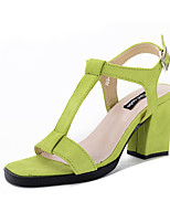 Women's Shoes  Chunky Heel Heels / Fashion Boots / Basic Pump / Comfort / Novelty / Ankle StrapSandals / Heels /
