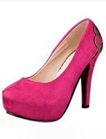 Women's Shoes Synthetic Stiletto Heel Heels Heels Wedding Black / Blue / Pink