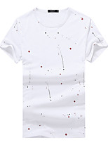 2016 young male short sleeved T-shirt products Amoi simple T-shirt printing fashion shirt short sleeved shirt