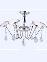 Iron Shaped Modern Minimalist led Chandelier