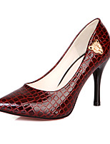 Women's Shoes PVC / Leatherette Stiletto Heel Heels Heels Wedding / Office & Career