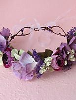 זרי פרחים כיסוי ראש נשים חתונה / אירוע מיוחד / קז'ואל / חוץ בד חתונה / אירוע מיוחד / קז'ואל / חוץ חלק 1