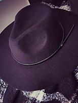 Fashion Women Wool Blend Floppy Hat,Casual Spring / Fall