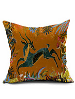 2016 New Arrival  Cotton/Linen Pillow Cover , Nature Modern/Contemporary  Pillow Linen Cushion986