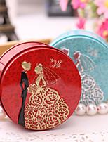 Boîtes à cadeaux / Bocaux à Bonbons et Bouteilles / Boîtes Cadeaux(Lilas / Rose / Rouge / Bleu,Métal)Thème classique / Thème de conte de