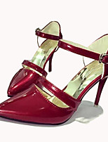 Women's Shoes  Stiletto Heel Heels Heels Party & Evening / Dress Pink / Red / Silver