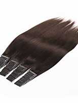 Brazilian Virgin Human Hair Tape Hair Extension 20pcs/70g 24