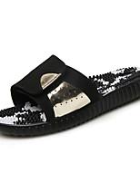 Zapatos de Hombre-Sandalias-Exterior / Casual-Sintético-Plata / Oro