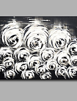 Oil painting Modern Abstract Pure Hand Draw Frameless Decorative Painting Flowers