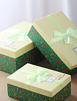 Boîtes Cadeaux(Vert,Papier durci)Thème classique- pourFête de naissance / Bonbon seize / Anniversaire / Mariage / Commémoration / Fête