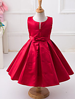 Girl's Red Dress Polyester All Seasons / Spring