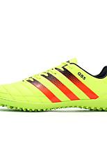 Sapatos Futebol Masculino Preto / Amarelo / Verde / Laranja Courino